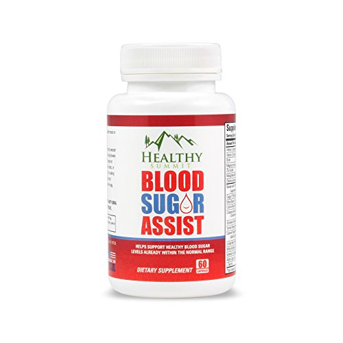 Healthy Summit Blood Sugar Support Supplement - Made with Gymnema, Cinnamon & Chromium - Helps Support Healthy Blood Glucose ()