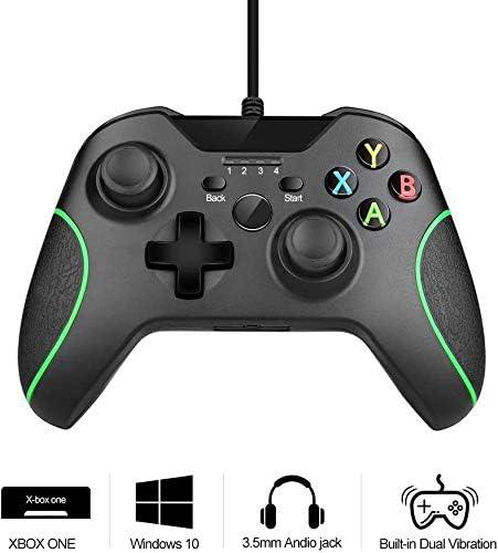 Maliralt - Mando Xbox One XF12 con cable, controlador de juego con ...