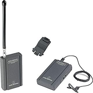 Audio-Technica PRO 88W-R35 VHF Wireless Lavalier System with ATR35 Mini Omnidirectional Clip-On Microphone (B00006I523) | Amazon price tracker / tracking, Amazon price history charts, Amazon price watches, Amazon price drop alerts