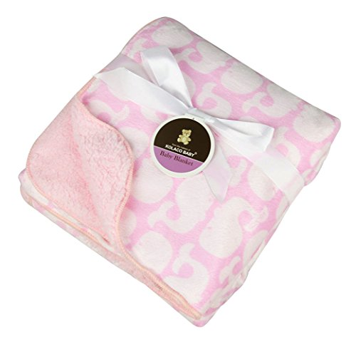 baby-plush-throw-blanket-sherpa-fleece-39x29-inch-pink-elephant
