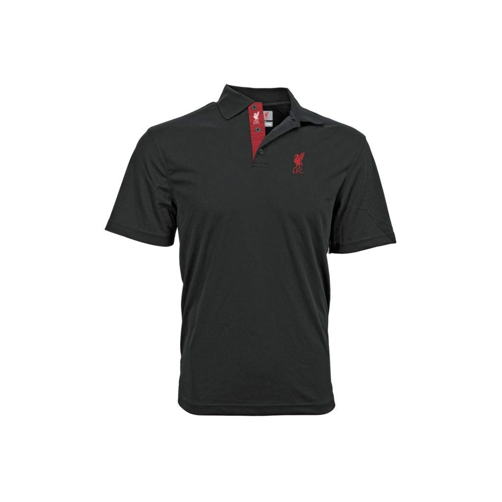 Liverpool - Polo de Manga Corta, Color Negro, XXL: Amazon.es ...