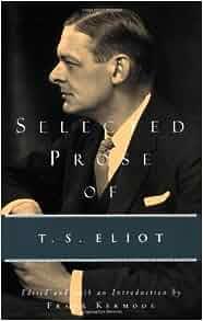 t s eliot selected essays amazon