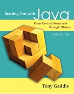 Starting out with python 2nd edition gaddis series starting out with java from control structures through objects 3rd edition fandeluxe Images