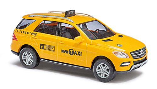 Busch 43314 MB ML Class Taxi NYC HO Scale Vehicle