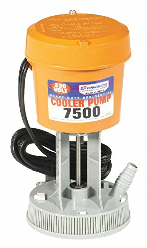 Air Cooler Rates - 230 or 240V Re-Circulating Pump for Residential Coolers, Flow Rate 420 GPH