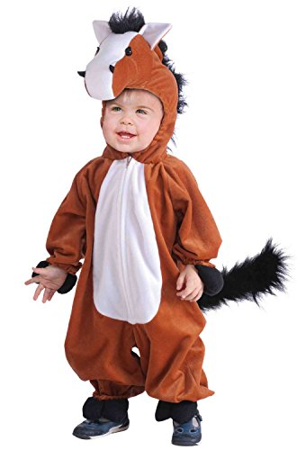 Toddlers Plush Horse Child's Costume