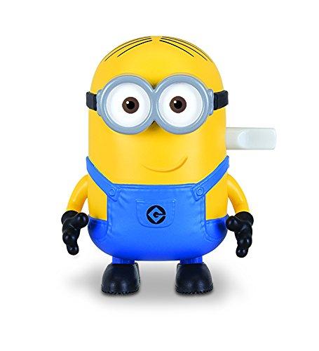 MTW Toys 20138 - Aufziehfigur Minion Dave, ca. 9 cm