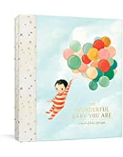 The Wonderful Baby You Are: A Record of Baby's First Year: Baby Memory Book with Milestone Stickers and Pockets