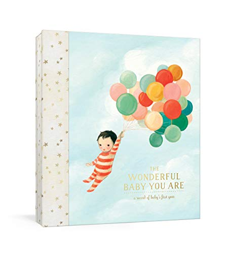 The Wonderful Baby You Are: A Record of Baby's First Year: Baby Memory Book with Stickers and -