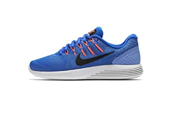 brand new 23b2c a4c20 Image Unavailable. Image not available for. Color  Nike Women s Lunarglide 8  Medium Blue Black ...