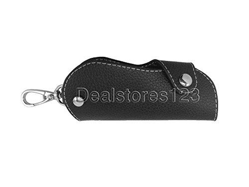 DealStores123 Stitched Key Leather Black Holder 5 Genuine xwxvBnr4