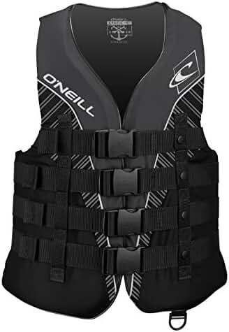 O'Neill Wetsuits Wake Waterski Mens Superlite USCG Nylon Life Vest