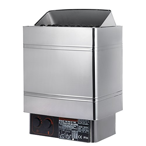 Happybuy Sauna Heater 9KW Electric Sauna Heater 220V-240V Sauna Stove with External Controller for 317.8-459.1 Cubic Feet Home Hotel Sauna Room Spa Shower ()