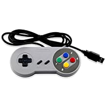 SUPER NES USB CONTROLLER COLORFUL FOR PC AND MAC - Mario Retro Brand - Generic