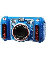 VTech - KidiZoom Duo DX - Digitale Speelgoedcamera - Nederlands Gesproken - Blauw - Leeftijd: 4-10 Jaar