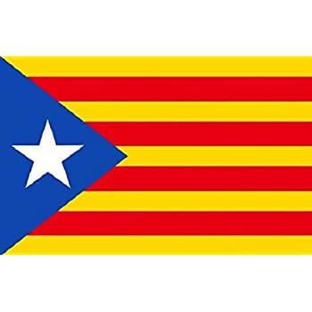 Amazon.com: Cataluña Estelada blava Bandera 2 x 3 para ...