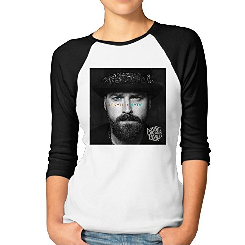 LJDESD Zac Brown Band Jekyll + Hyde Womens T-Shirts Baseball