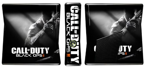 Call of Duty: Black Ops II 2 Limited Edition Game Skin for Xbox 360 Slim Console