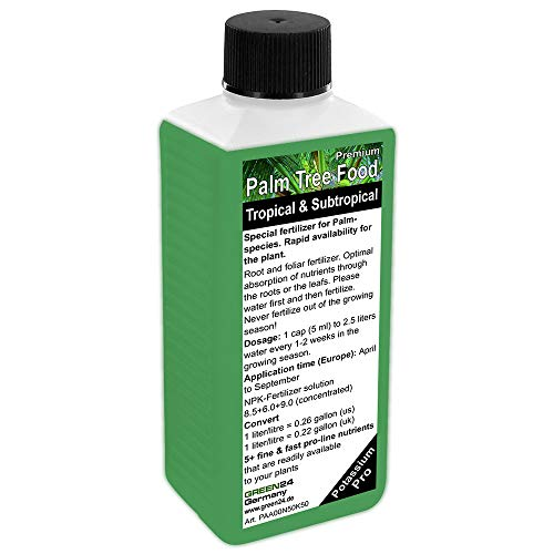 Palm Tree Liquid Fertilizer HighTech NPK, Root, Soil, Foliar, Fertiliser - Professional Plant Food