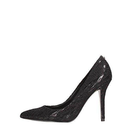 Guess Decollete Mujer Zapatos Carbinia Pizzo punta talón Cm 10,5 Black Nero