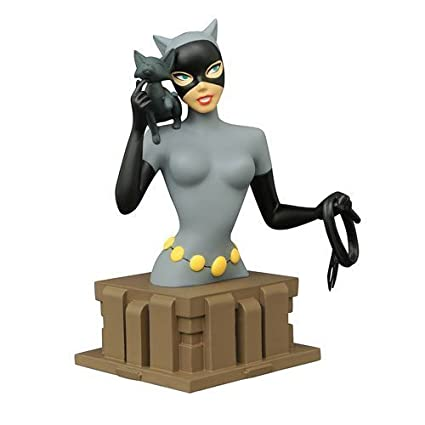 Amazon.com: Batman: The Animated Series Catwoman Bust: Toys ...