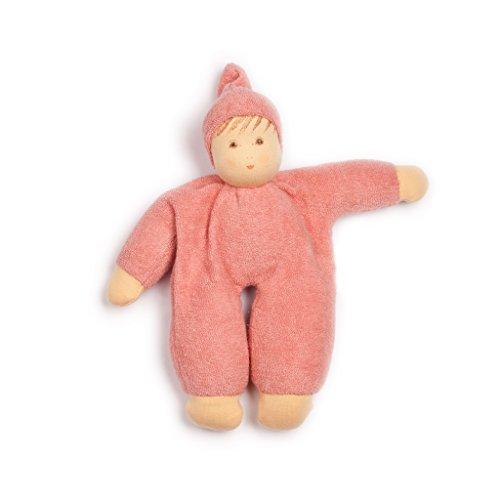 Pink Nanchen Organic Cotton Mopschen Waldorf Doll