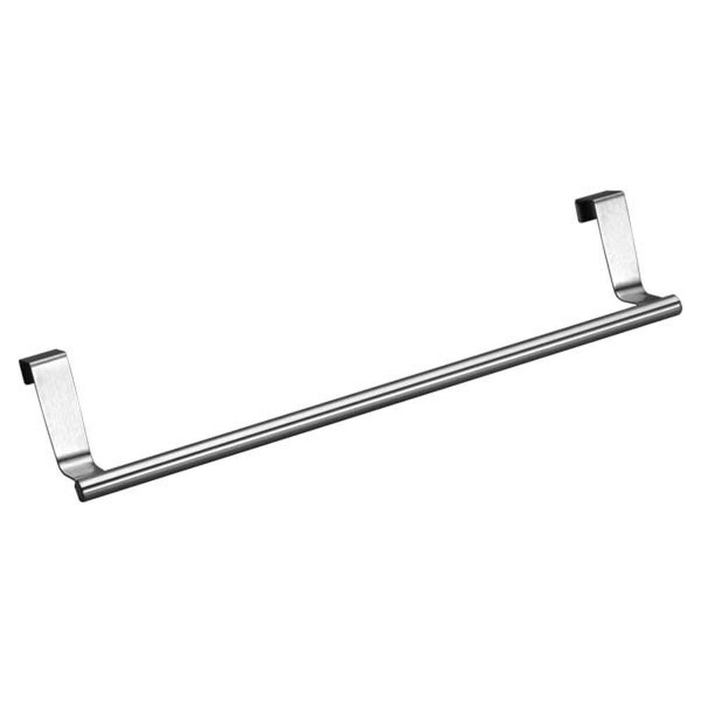 1PC 232Cm Stainless Steel Towel Bar Holder Over Door Towel Rack Bar Hanging Bathroom Kitchen Cabinet Shelf Rack New 23x2cm