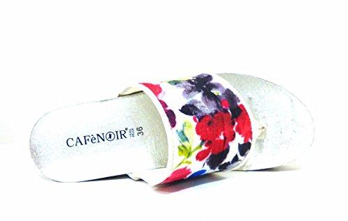 CAFe NOIR HA903 Multicolor Scarpa Donna Zeppa Ciabatta Infradito CAFèNOIR