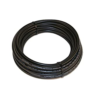 50' solar cable Bulk Black copper #10 AWG 1000 volt PV Wire with Tough XLPE insulation