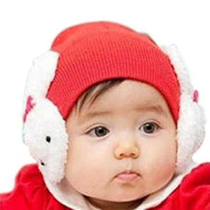 Buy Baby Toddler Kids Boys Girl Winter Ear Flap Warm Hat Beanie Cap Crochet  Rabbit Online at Low Prices in India - Amazon.in 1e0a7961ac3