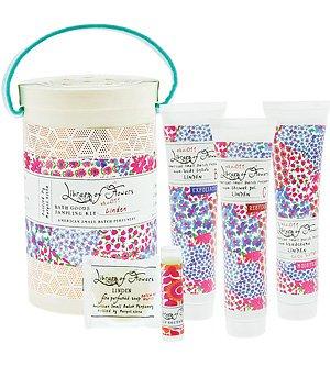 Library of Flowers Field Kit: Bath Goods Sampling Kit (Sampling Fragrance)