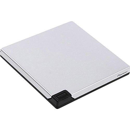 Pioneer BDR-XD05TS External Slim Portable USB 3.0 6x BDRW Disc - Silver