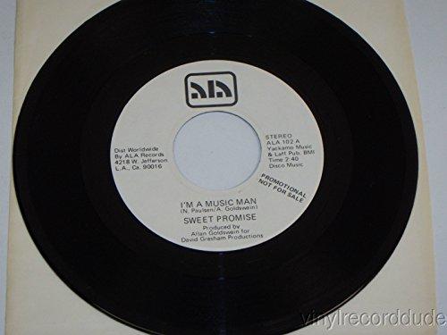 i'm a music man / mono 45 rpm single (Ala Mona)