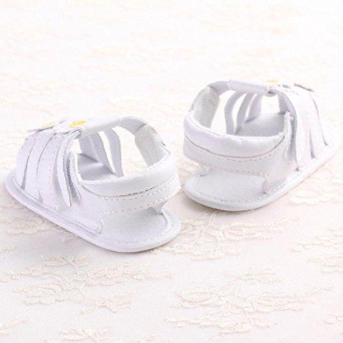 Zapatos de bebé, Switchali zapatos bebe niña primeros pasos verano Recién nacido Cuna Flor Suela blanda Antideslizante Zapatillas niño vestir casual barato gran venta Amarillo