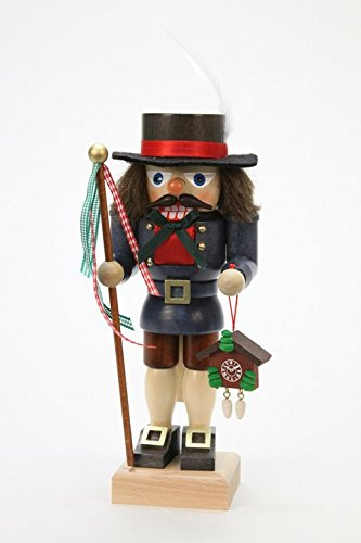 German Christmas Nutcracker - Black Forester - 24cm / 9 inch - Christian Ulbricht by Ulbricht