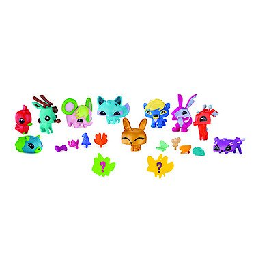 Animal Jam Pet Stop Pals with Exclusive Gold Bunny & 2 Mystery Pets Adopt a Pet Set ()