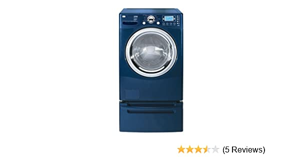 amazon com lg wm2688hnma 27 front load steam washer navy blue rh amazon com LG Tromm Washer Manual LG Tromm Dryer Vent