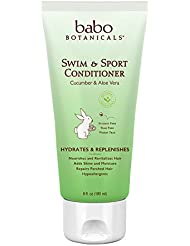 Babo Botanicals Swim and Sport Conditioner, Cucumber Aloe, 6 Ounce