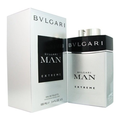 ( In Mind ) Bvlgari Man Extreme Eau De Toilette Spray for Men 3.4 oz. ( NEW Authentic and Fast Shipping - Buy Bulgari