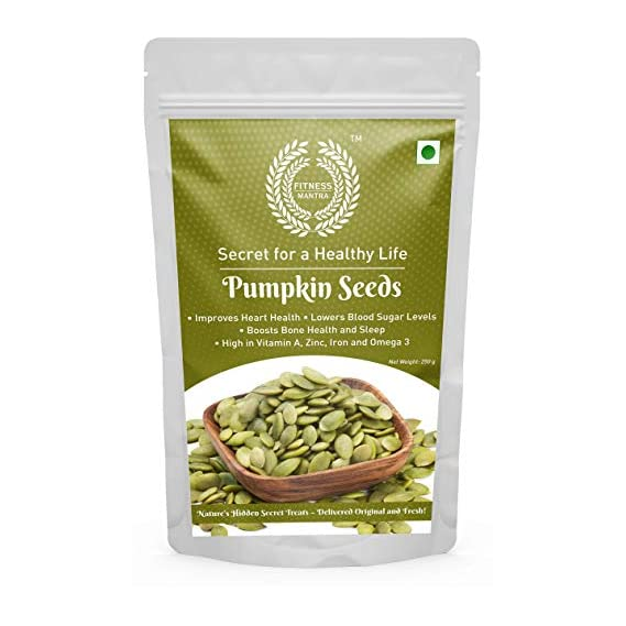Fitness Mantra Pumpkin Seeds Pouch, 250 g