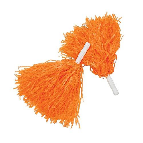 Fun Express Orange Pom Poms (1 dz)]()