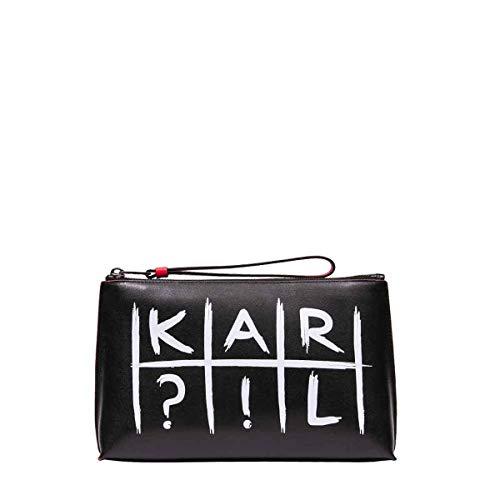 Nero Donna Pochette Lagerfeld Pelle 91kw3225black Karl AOfqx1wnn
