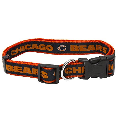 Pets First NFL Chicago Bears Pet Collar, Medium ()
