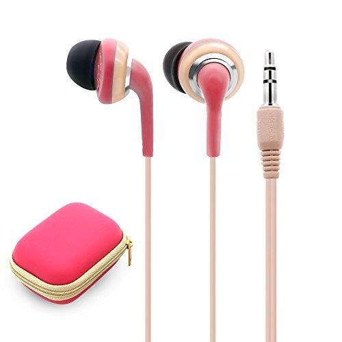 Wired Earbuds With Microphone, 3.5mm Bass Stereo In-ear Headphones for IOS/Android Device (Smart-phones & Laptops), Available When Exercise, Pack of 2PCS, Color Random by KATEVO (Image #3)