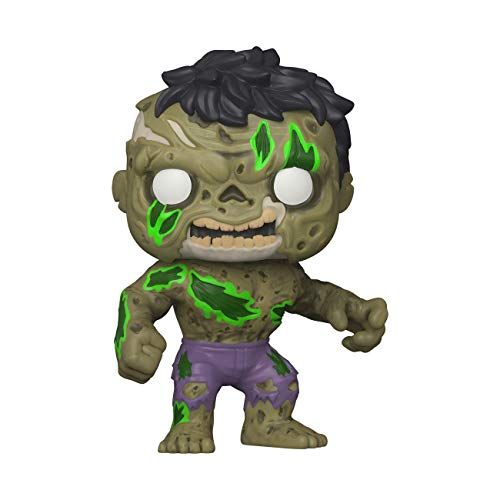 Funko- Pop Marvel Zombies-Hulk Figura Coleccionable, Multicolor (49121)