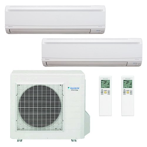 Daikin 2 Zones 18,000 BTU 220V/18 SEER/High Efficient / Savi