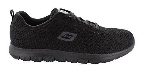 Skechers Work Ghenter-Bronaugh Women's Oxford 7 C/D US Black