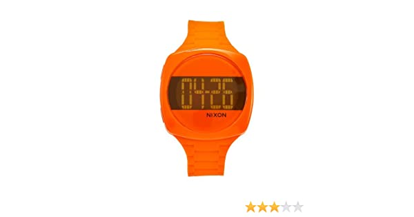 f81fdcc5c Amazon.com: Nixon Women's A168877 Dash Marmalade Orange Rubber Orange dial  Watch: Nixon: Watches