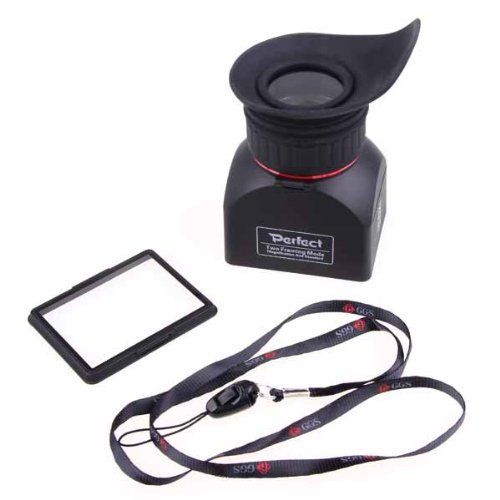 "3"" LCD Foldable Viewfinder 3x Magnification Loupe /Magnifier For any CANON NIKON DSLR with 3"" LCD screen"