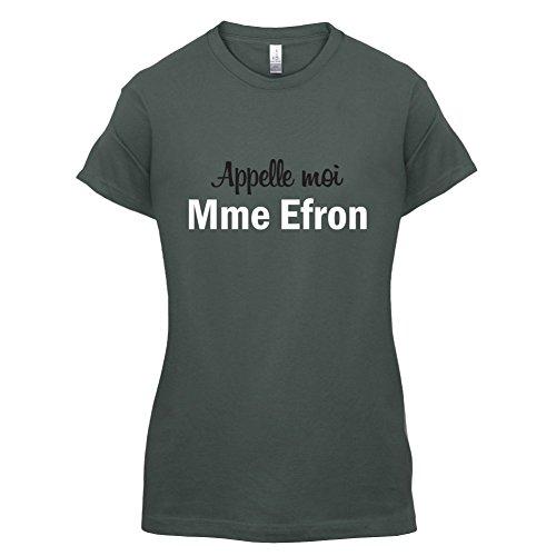 Apelle Moi Madame Efron - Femme T-Shirt - Gris foncé - L
